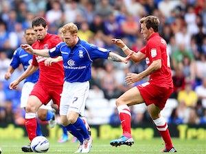 Half-Time Report: Birmingham held by Bristol City