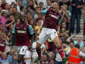 Half-Time Report: West Ham 1-0 Aston Villa