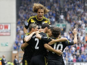 Half-Time Report: Wigan Athletic 0-2 Chelsea