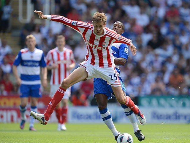 Half-Time Report: Reading holding Stoke City
