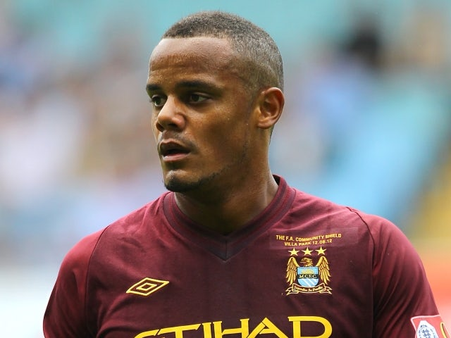 Kompany out of Liverpool clash