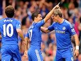 Juan Mata, Eden Hazard, Fernando Torres
