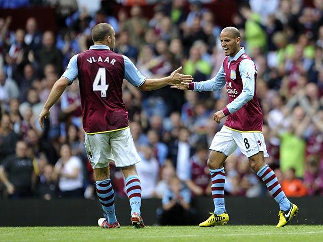Ron Vlaar: 'Villa can stay up'