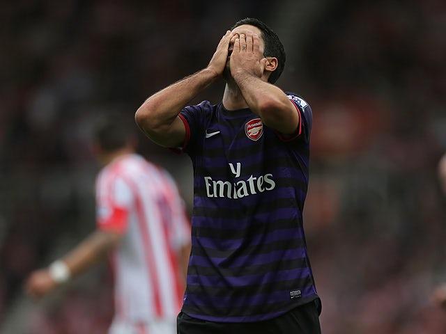 Arteta to miss Newcastle clash