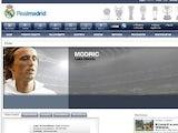 Luka Modric website page