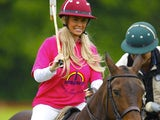Katie Price on a horse