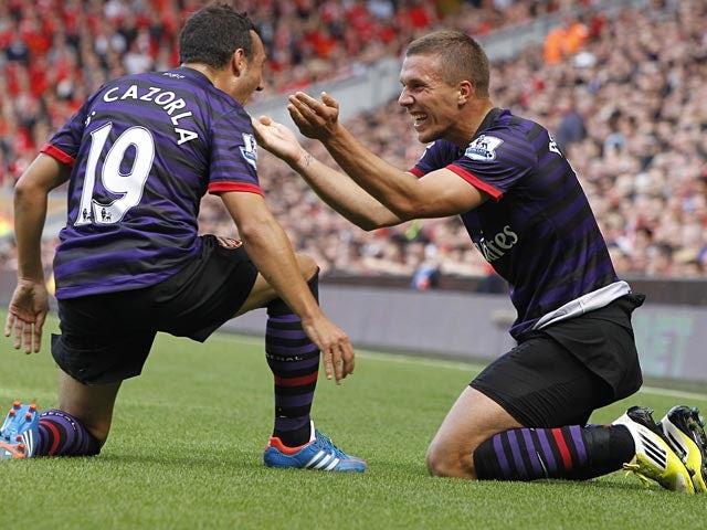 Half-Time Report: Arsenal 4-1 Southampton