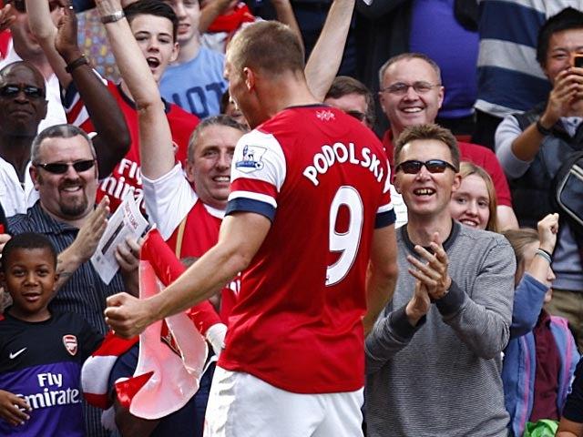 Podolski wanted RVP stay