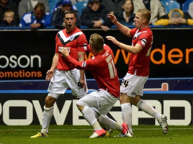 Half-Time Report: Blackpool 1-2 Huddersfield
