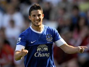Team News: Mirallas keeps place for Everton