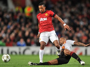Nani in training ground fight?