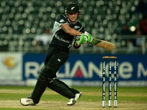 Result: NZ beat England by three wickets in first ODI