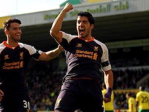 Half-Time Report: Norwich City 0-2 Liverpool
