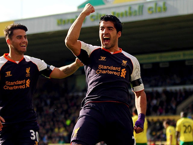 Result: Norwich City 2-5 Liverpool