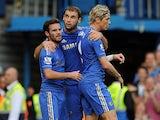 Branislav Ivanovic, Fernando Torres, Juan Mata