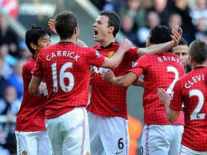 Half-Time Report: Newcastle United 0-2 Manchester United