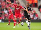 Morgan Schneiderlin, Chris Baird