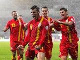 Gareth Bale scores a brace