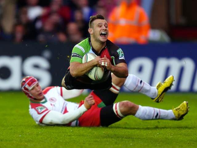 Result: Quins see off Biarritz