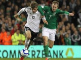 Aiden McGeady and Thomas Muller
