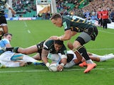 George Pisi touches down for Northampton