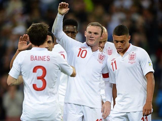 Rooney is Hodgson's future captain