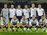 Scotland team facing Wales