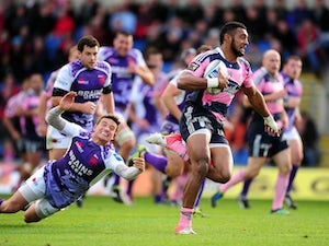 London Welsh outclassed by Stade Francais