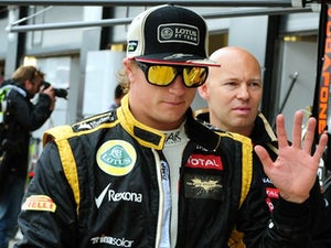 Raikkonen to remain at Lotus?
