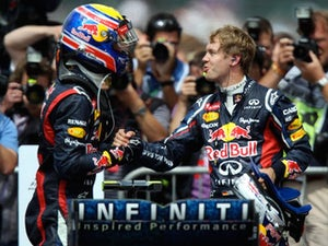 Webber won't move aside for Vettel