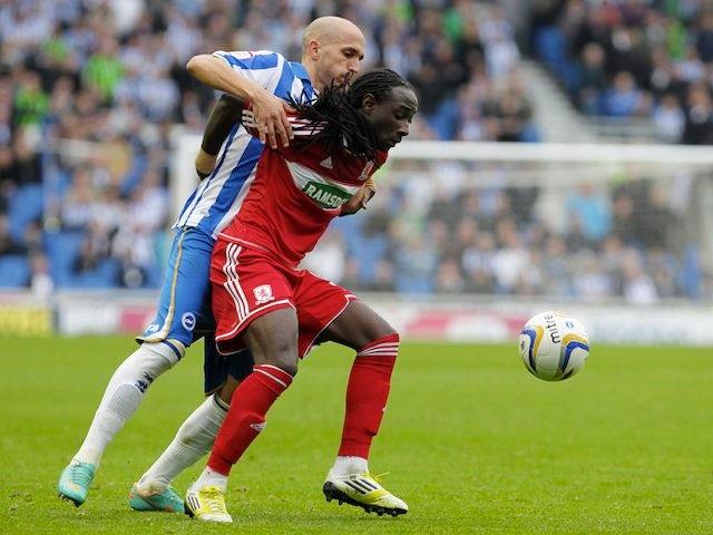 Middlesbrough's Marvin Emnes