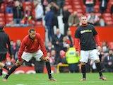 Rio Ferdinand and Wayne Rooney