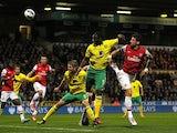 Olivier Giroud attempts goal