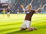 Danny Grainger scores for Hearts