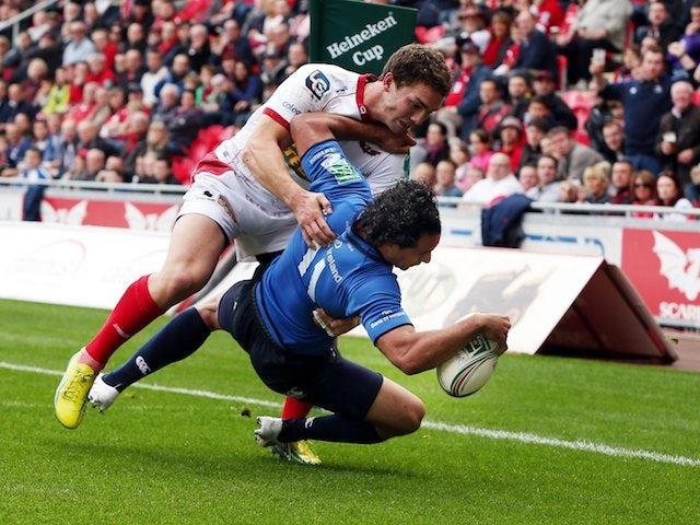 Result: Leinster hang on to egde Scarlets