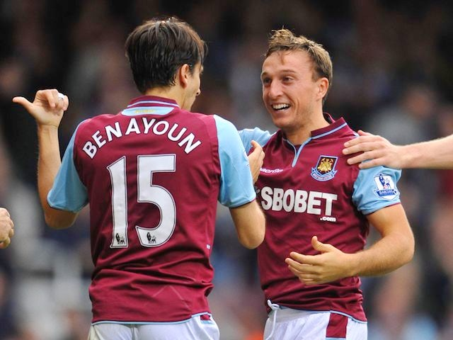 Result: Hammers hit four against Southampton