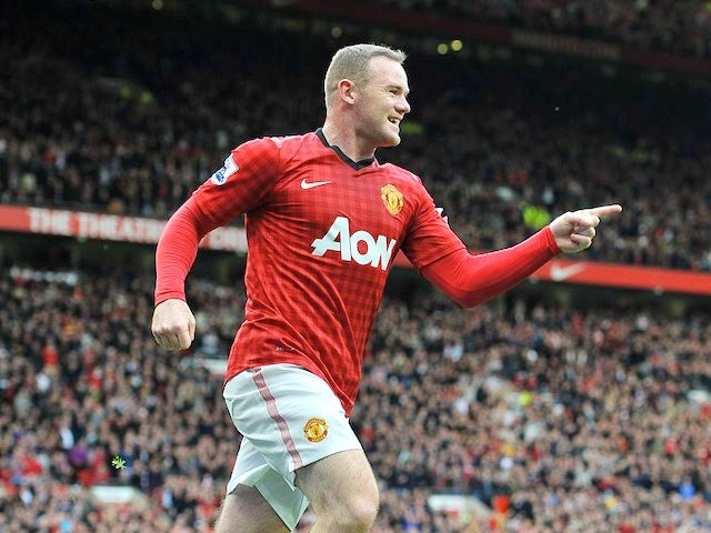 Result: Rooney scores twice in United victory