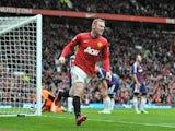 Wayne Rooney scores for United