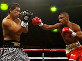 Kell Brook fights Hector Saldivia