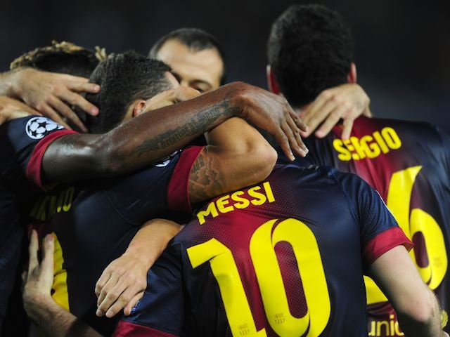 Half-Time Report: Barca come from behind to go in level