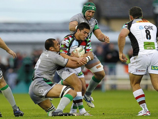 Result: Quins earn vital win in Ireland