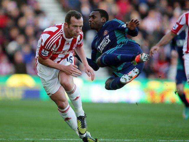 Result: Sunderland draw at Stoke