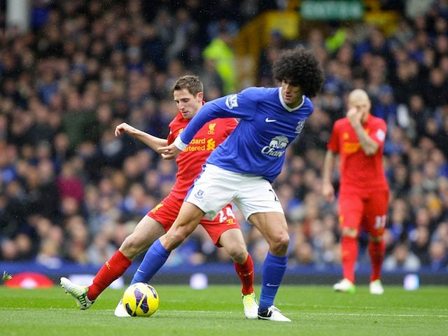 Result: Everton and Liverpool share spoils