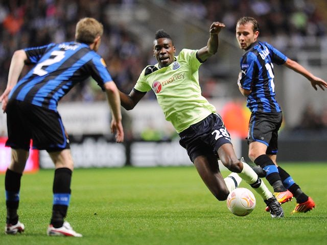 Sammy Ameobi on October 25, 2012