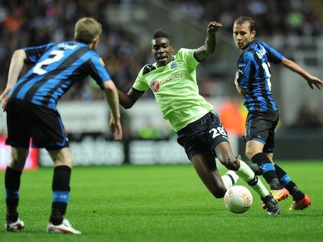 Sammy Ameobi on October 25, 2012