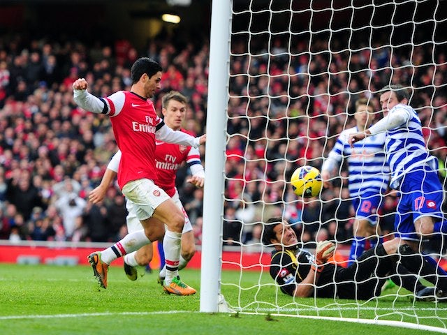 Mikel Arteta scores the winner for Arsenal