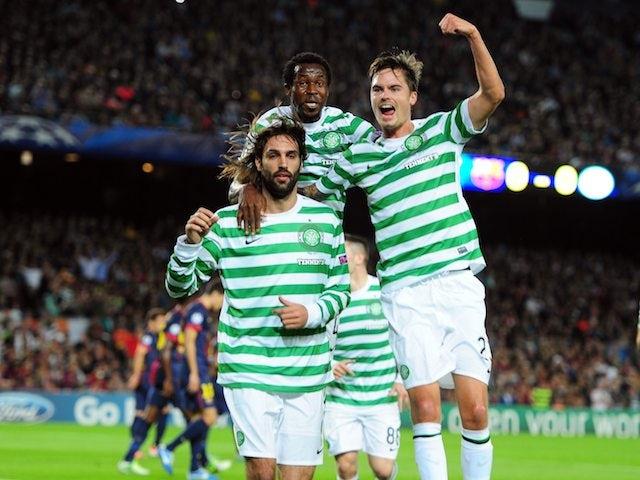 Team News: Samaras, Commons return for Celtic