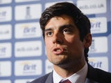 Alastair Cook on October 24, 2012