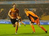 Kevin Doyle celebrates his brace