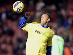 Anton Ferdinand wears 'Kick It Out' t-shirt